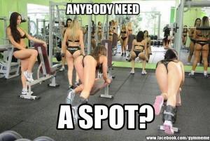 Anybody need a spot