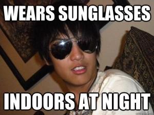 Sunglass meme