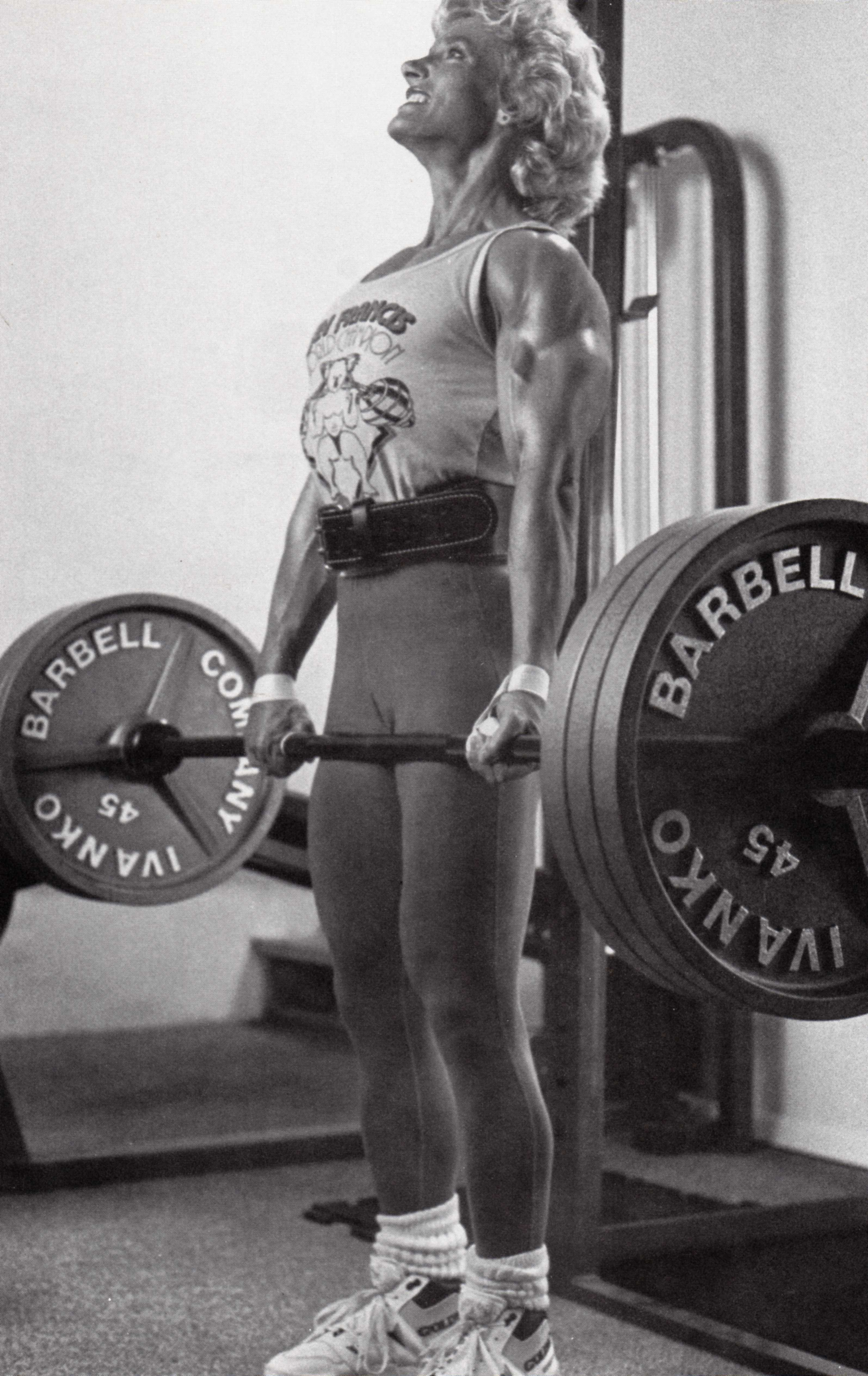 bev francis deadlift