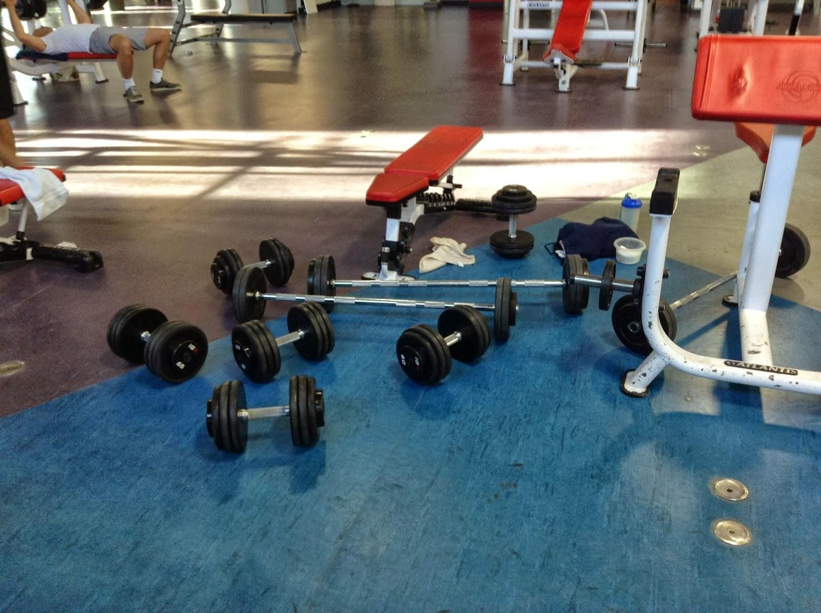 unwritten gym rules