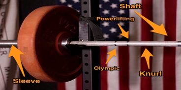 weightlifting bar