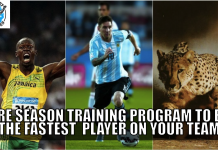 pre season training program