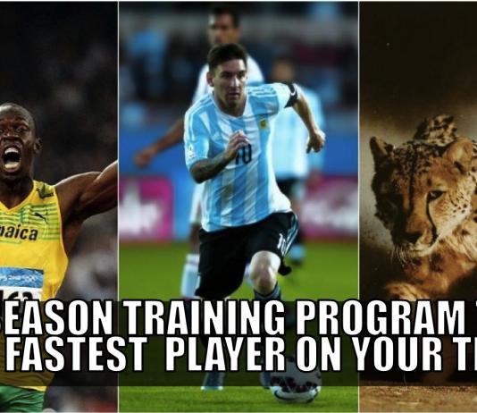 pre season training program