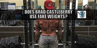 brad castleberry fake weights