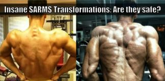sarms before and after