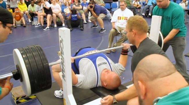 powerlifter with down syndrome