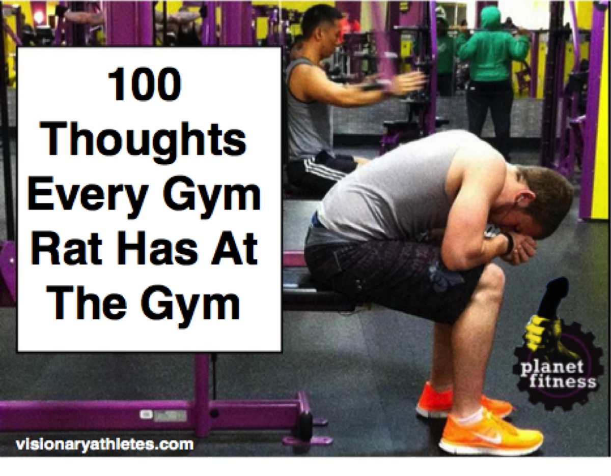 Thoughts At The Gym