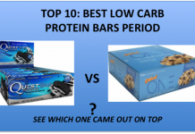 low carb protein bars