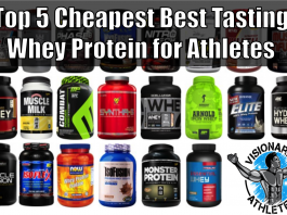 cheapest best tasting whey protein
