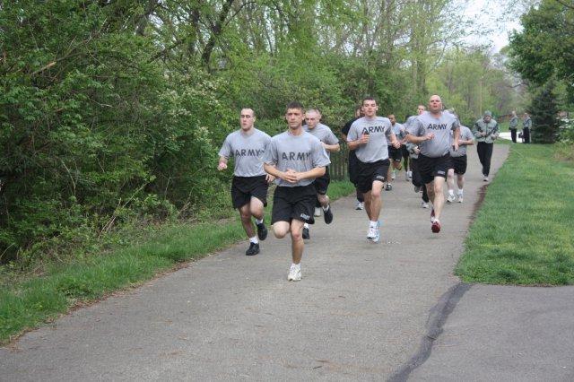 army apft run