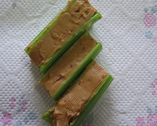 is celery keto friendly
