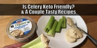 is celery keto friendly